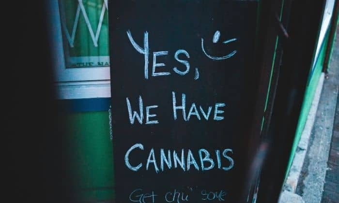 yes we have cannabis sign for california sober